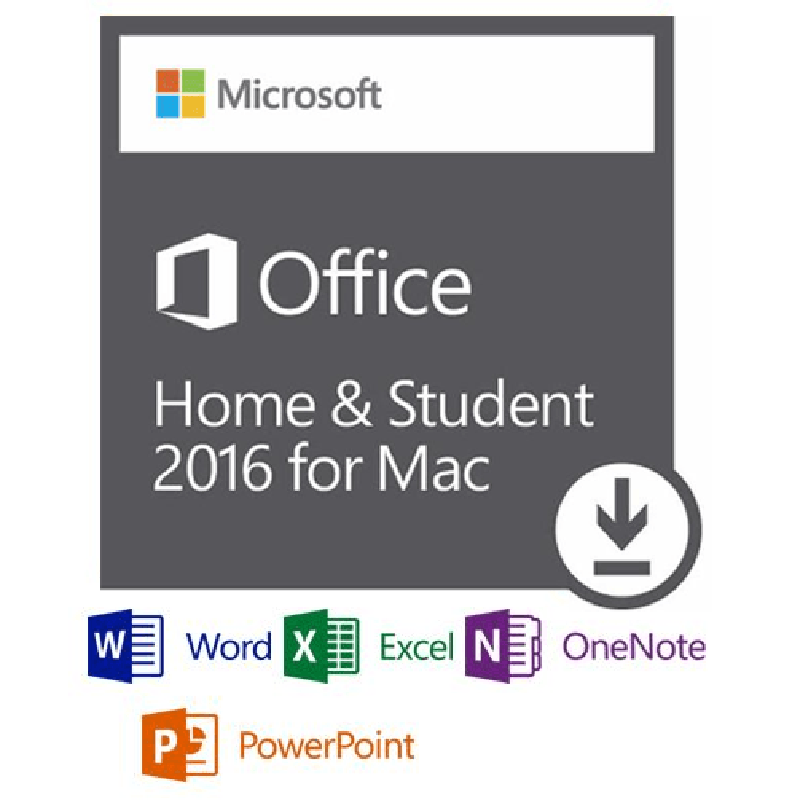 microsoft office mac 2016 home and student