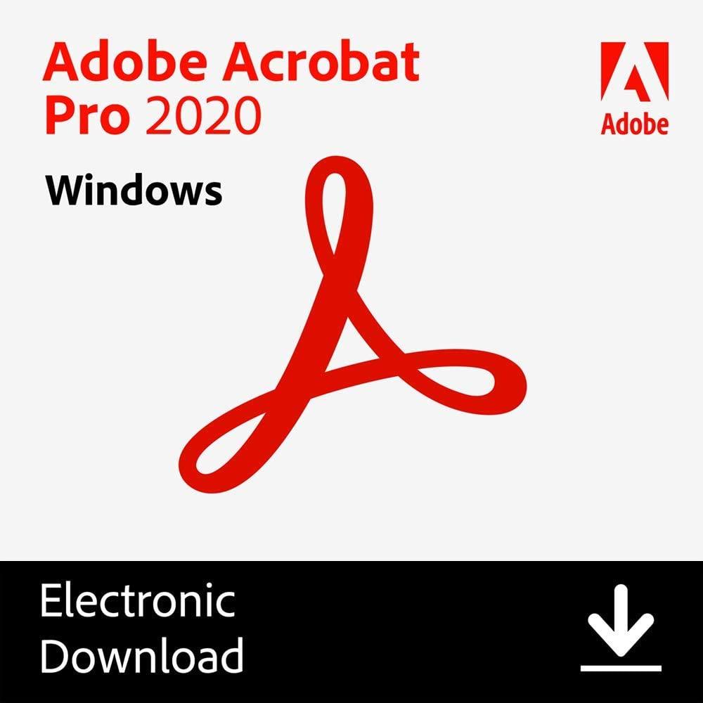 Adobe Acrobat Pro 2020 | Lifetime License | Download | English Version | Windows | 1PC – International Version